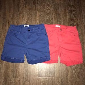 Kensie Jeans Shorts Lot, 2 Pair, Size 4/27